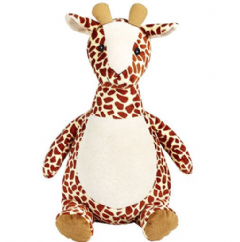 Personalised Soft Toy Animal Cubbie Giraffe
